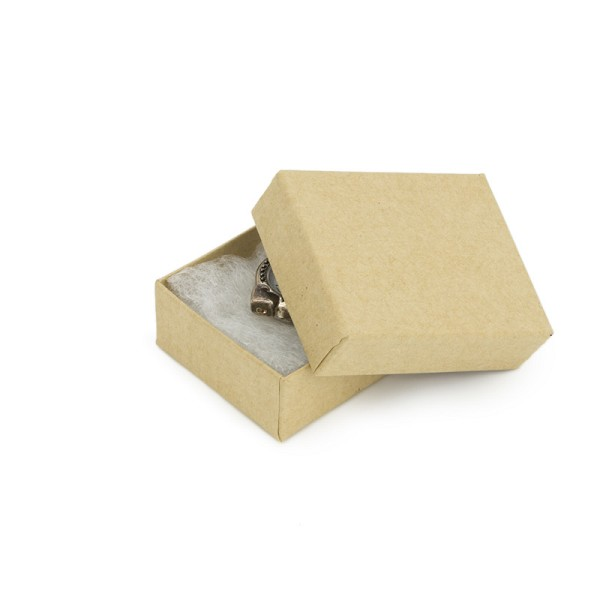 Kraft Paper Jewelry Box #11
