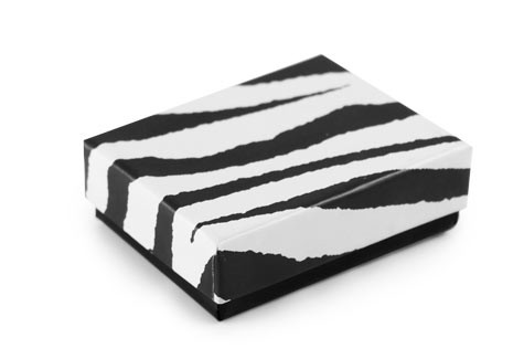 Zebra Print Jewelry Box #11
