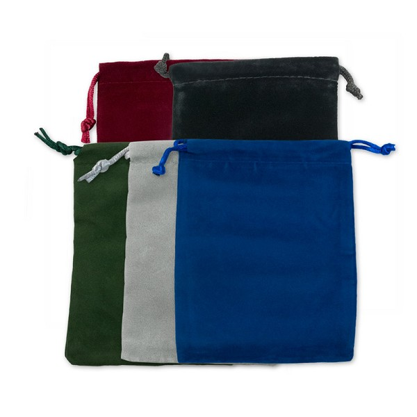 Velvet Drawstring Pouch Assortment 4x5 (10-Pcs)