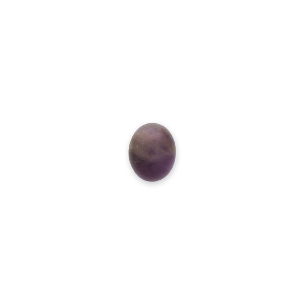 Dogtooth Amethyst Oval Cabochon 8x10mm