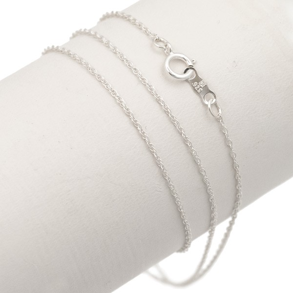 "Rope Chain 18"" 1.00mm Sterling Silver (1-Pc)"