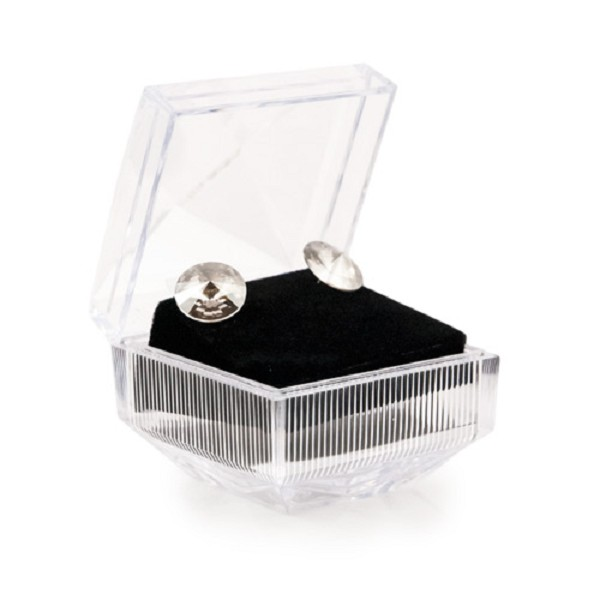 Crystal Style Lucite Earring Box