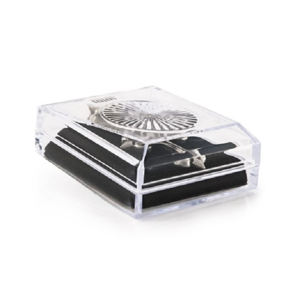 Crystal Style Lucite Pendant/Earring Box
