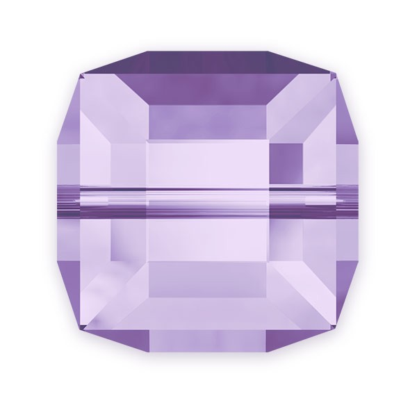 Swarovski Crystal 5601 4mm Tanzanite Cube Bead (1-Pc)