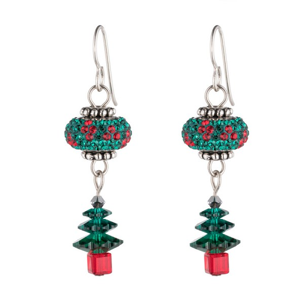 Swarovski Noel Christmas Trees Earring Project