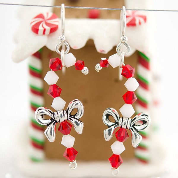 TierraCast Candy Cane Earring Kit