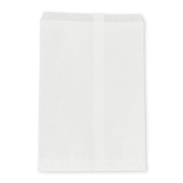 Jewelry Gift Bags White 6x9 (100-Pcs)