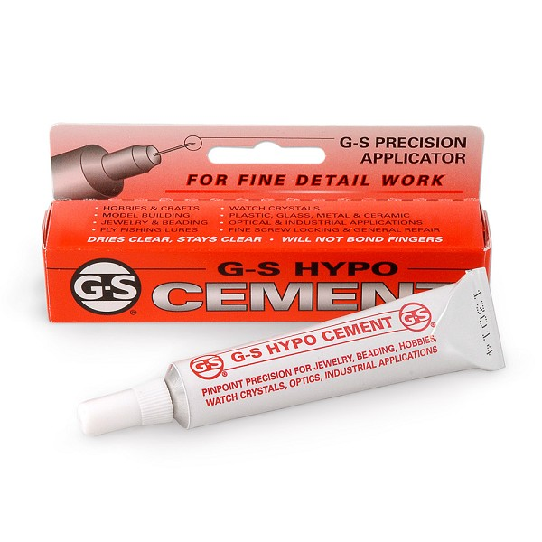 G-S Hypo-Tube Cement 1/3oz.