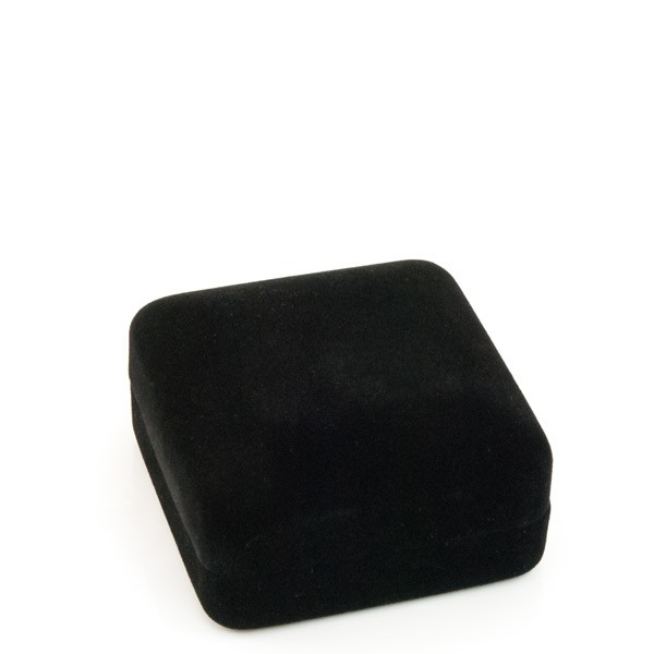 Black Velvet Pendant or Earring Box