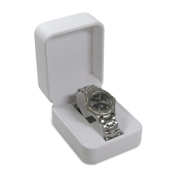 White Single Watch Box