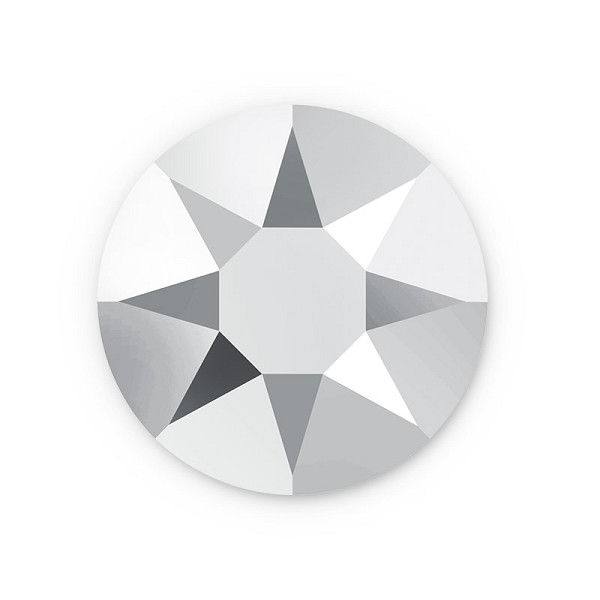 Swarovski 2078 4mm (SS16) Crystal Light Chrome Hotfix Flat Back (10-Pcs)