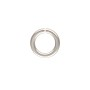5.8mm Sterling Silver Round Open Twist Lock Jump Ring (1-Pc)