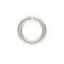 8mm Sterling Silver Round Open Twist Lock Jump Ring (1-Pc)