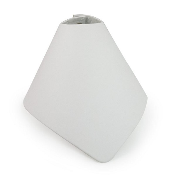 Foldable Necklace Cone Display White