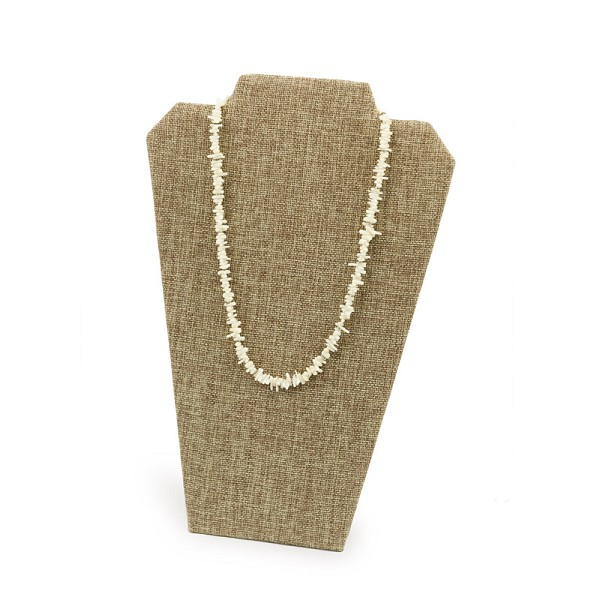 Burlap Necklace Display Stand