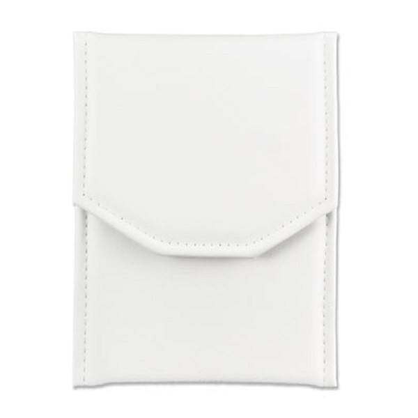 Pearl Folder White Leatherette