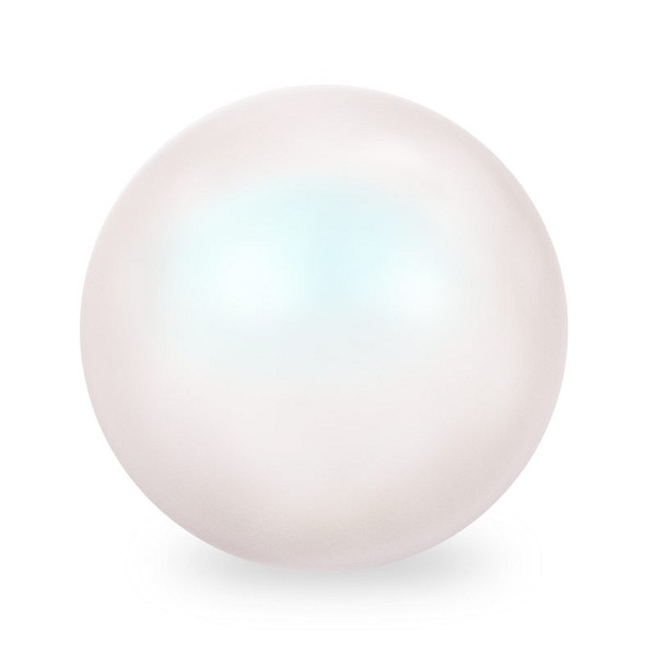 Swarovski 5810 3mm Pearlescent White Round Crystal Pearl (10-Pcs)