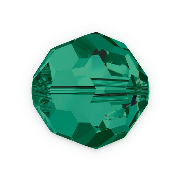 Swarovski Crystal 5000 8mm Emerald Round Bead (1-Pc)
