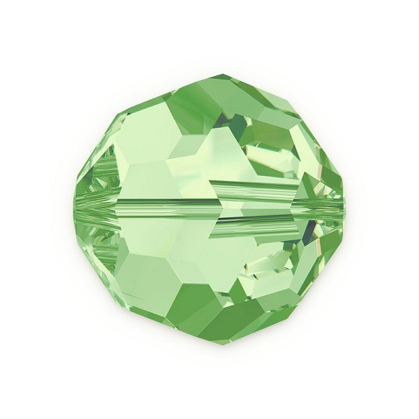 Swarovski Crystal 5000 6mm Peridot Round Bead (1-Pc)