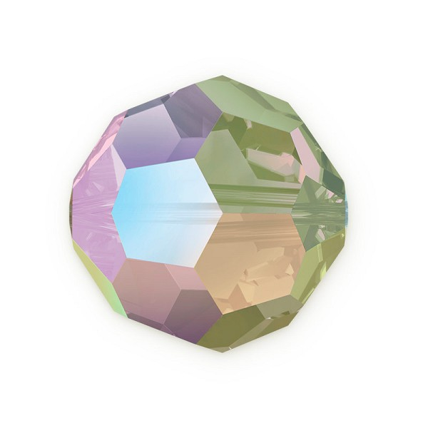 Swarovski Crystal 5000 8mm Crystal Paradise Shine Round Bead (1-Pc)