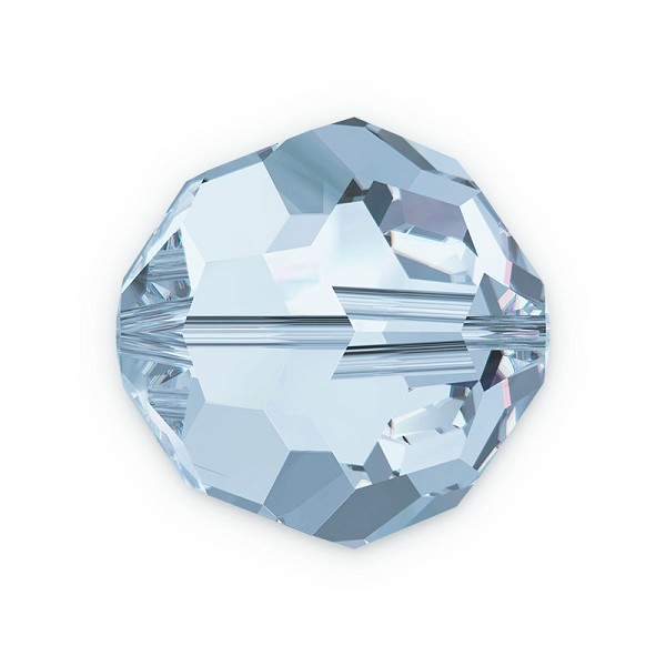 Swarovski Crystal 5000 8mm Crystal Blue Shade Round Bead (1-Pc)