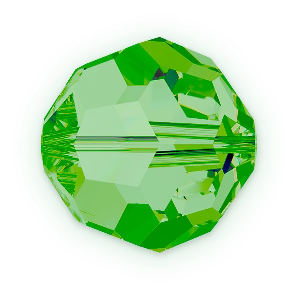 Swarovski Crystal 5000 8mm Fern Green Round Bead (1-Pc)
