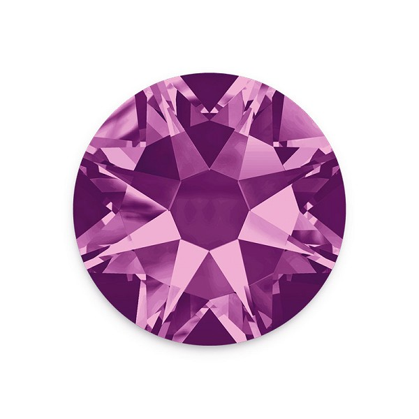 Swarovski 2088 4.7mm (SS20) Amethyst Flat Back (10-Pcs)