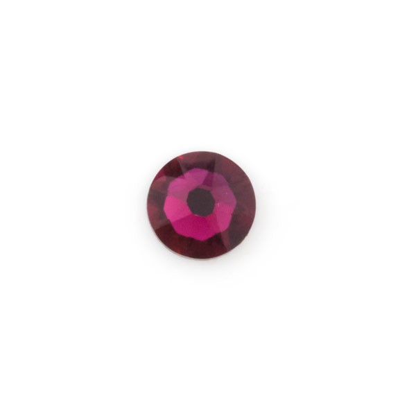 Swarovski 2088 6.5mm (SS30) Ruby Flat Back (5-Pcs)