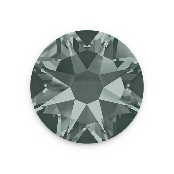 Swarovski 2088 4.7mm (SS20) Black Diamond Flat Back (10-Pcs)