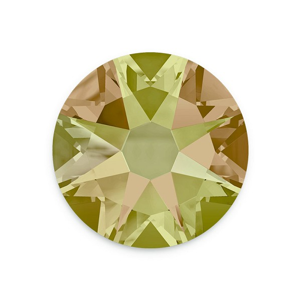 Swarovski 2088 4.7mm (SS20) Crystal Luminous Green Flat Back (10-Pcs)