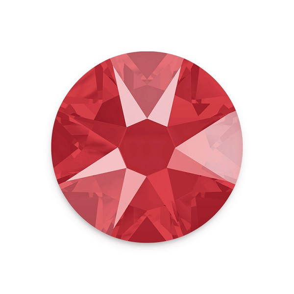 Swarovski 2088 6.5mm (SS30) Crystal Royal Red Flat Back (5-Pcs)