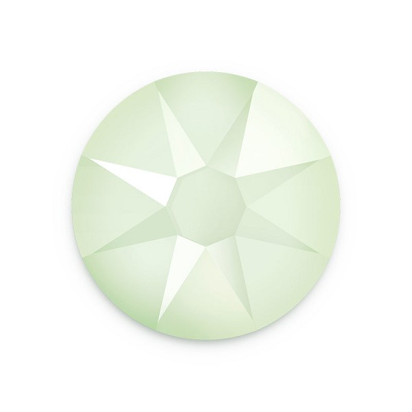 Swarovski 2088 6.5mm (SS30) Crystal Powder Green Flat Back (5-Pcs)