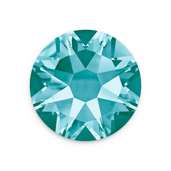 Swarovski 2088 4.7mm (SS20) Light Turquoise Flat Back (10-Pcs)
