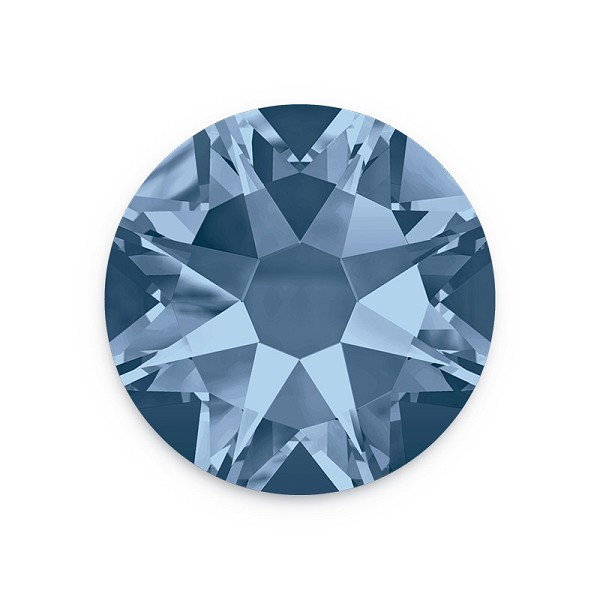 Swarovski 2088 4.7mm (SS20) Denim Blue Flat Back (10-Pcs)