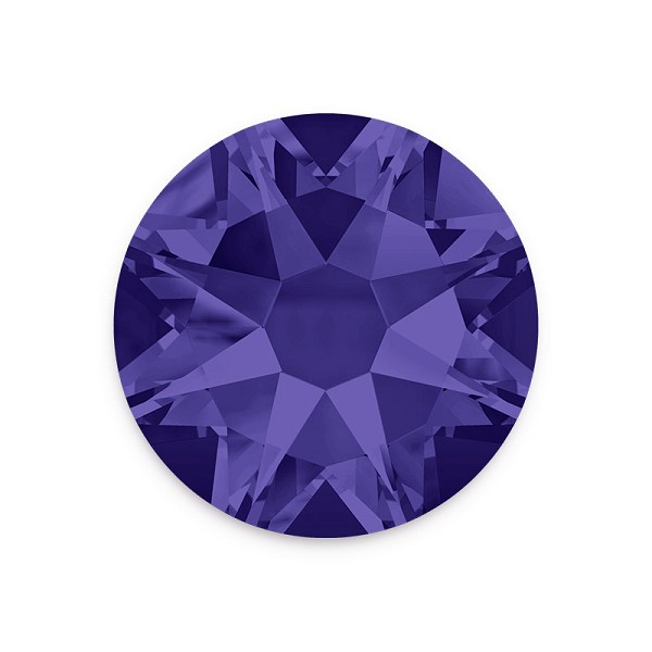 Swarovski 2088 4mm (SS16) Purple Velvet Flat Back (10-Pcs)