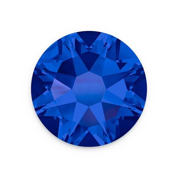 Swarovski 2088 4mm (SS16) Crystal Meridian Blue Flat Back (10-Pcs)