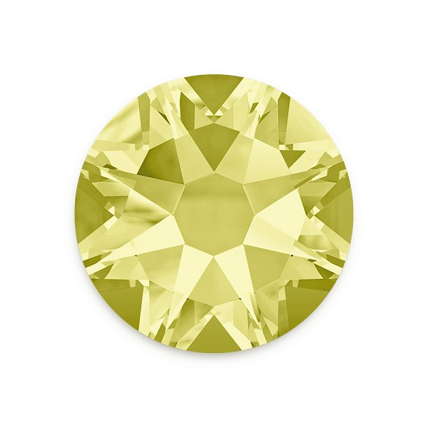 Swarovski 2088 7mm (SS34) Jonquil Flat Back (5-Pcs)