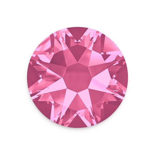 Swarovski 2088 4.7mm (SS20) Rose Flat Back (10-Pcs)