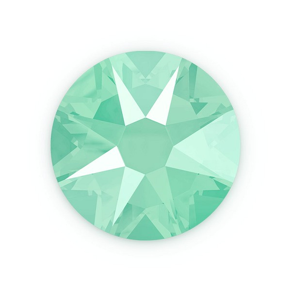 Swarovski 2088 6.5mm (SS30) Crystal Mint Green Flat Back (5-Pcs)