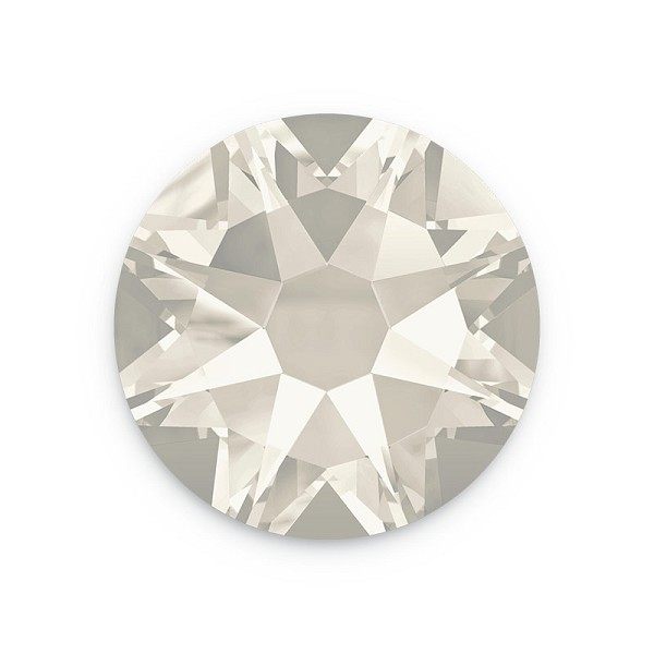 Swarovski 2028 4.7mm (SS20) Crystal Silver Shade Flat Back (10-Pcs)