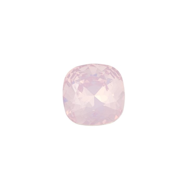 Swarovski Crystal 4470 12mm Rosewater Opal Cushion Cut Square Fancy Stone (1-Pc)