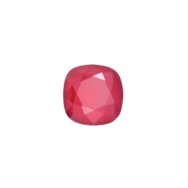 Swarovski 4470 12mm Crystal Royal Red Cushion Cut Square Fancy Stone (1-Pc)