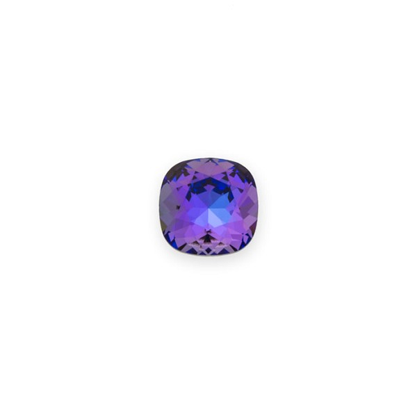 Swarovski 4470 12mm Crystal Heliotrope Cushion Cut Square Fancy Stone (1-Pc)