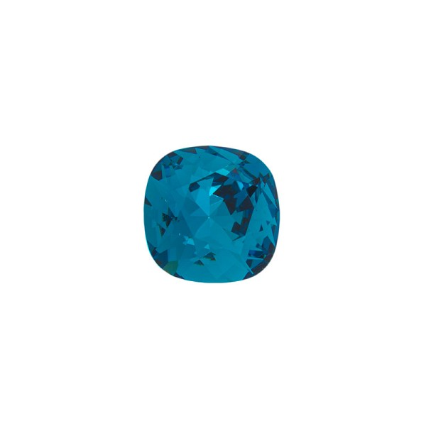 Swarovski Crystal 4470 12mm Indicolite Cushion Cut Square Fancy Stone (1-Pc)