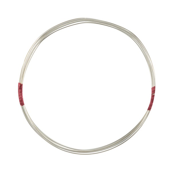 Sterling Silver Wire Round Half-Hard 20ga (Priced per Foot)