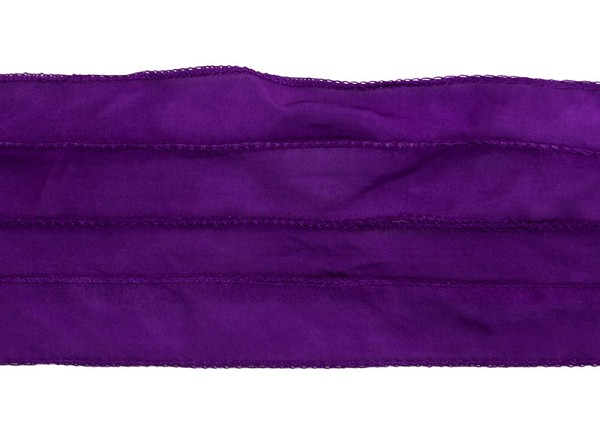 Plum Silky Ribbon (42 Inches)