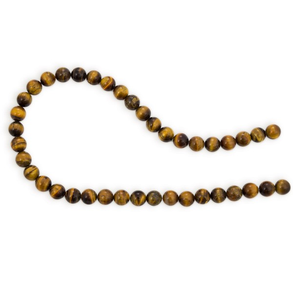 "Tiger Eye Beads 10mm (16"" Strand)"