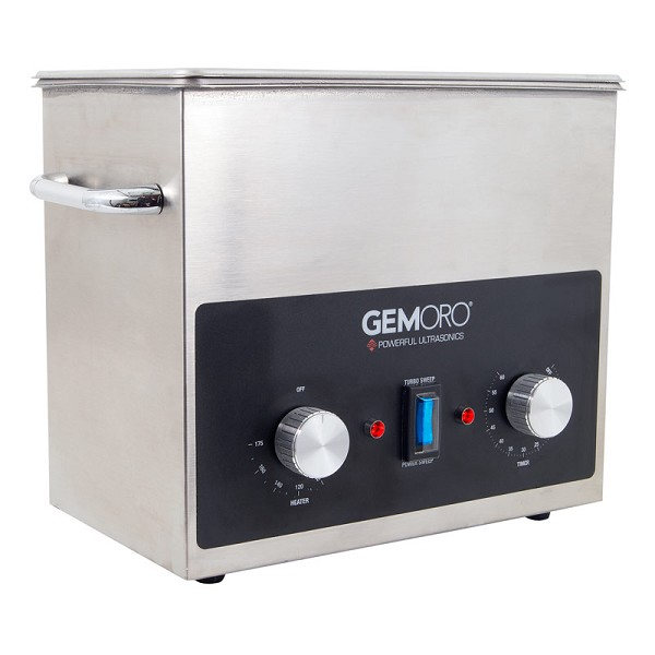 Commercial Ultrasonic Jewelry Cleaner with Heater (3-Quart)