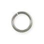Jump Ring 12.8mm Antique Silver Plated (25-pcs)