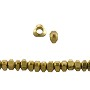 Triangle Heishi Beads 4x2mm Brass (10-Pcs)
